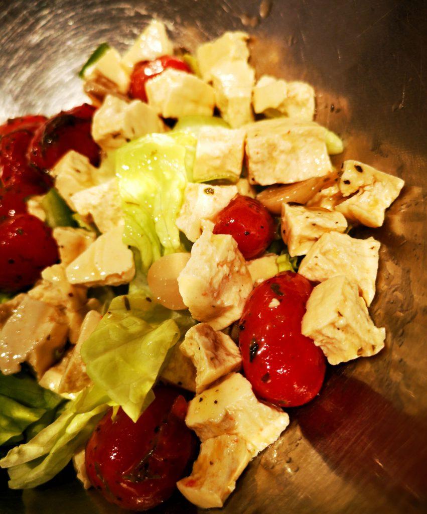 IMG 20190403 183719 01 851x1024 - Salade de tofeta maison et tomates confites