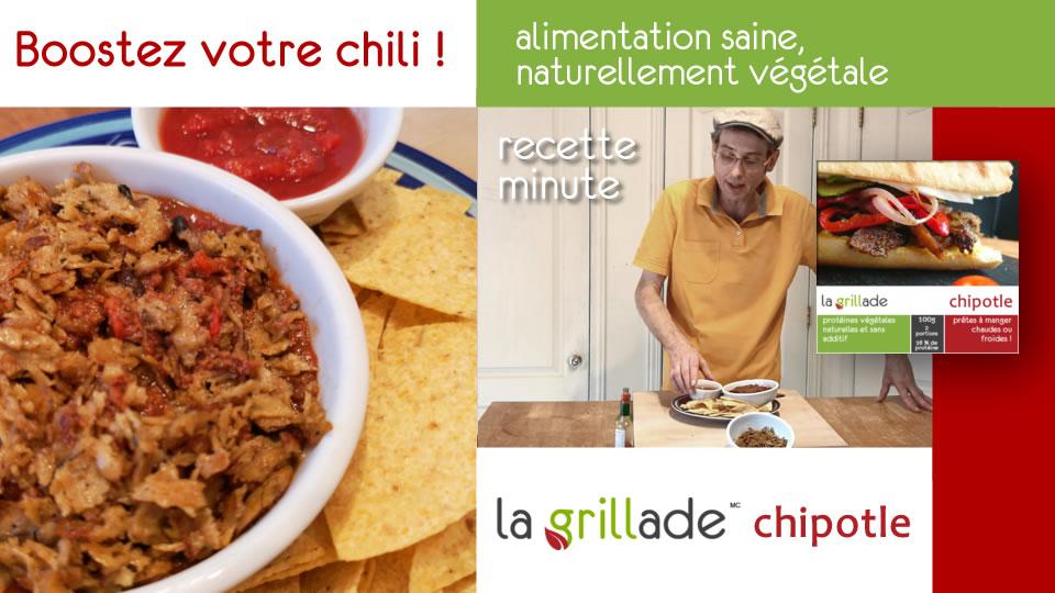 slider recettes minutes chili - Recettes minutes
