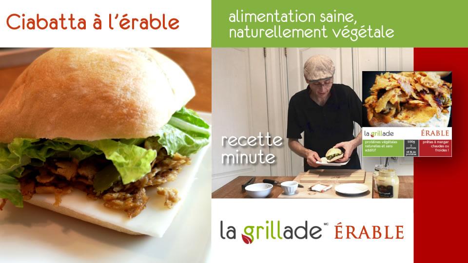 slider recettes minutes erable - Recettes minutes